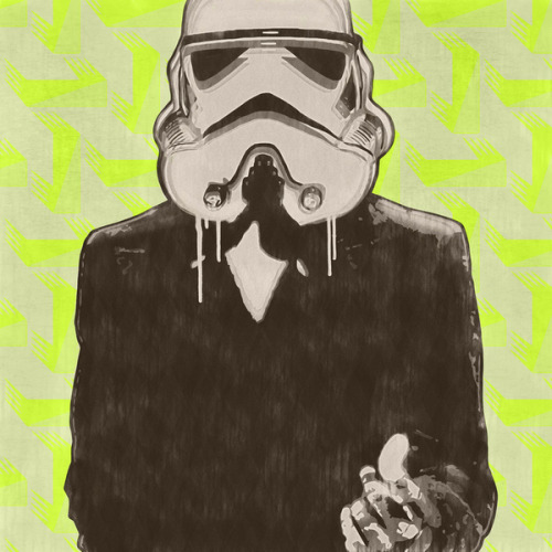 Trooper Bond - by Cassius Cassini Prints available at Society6