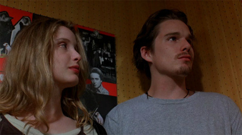 I watched Before Sunrise last weekend and wrote about it. [Lone Star Cinema: Before Sunrise | Slackerwood]