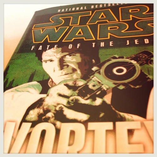Just finished Fate of the Jedi Vortex