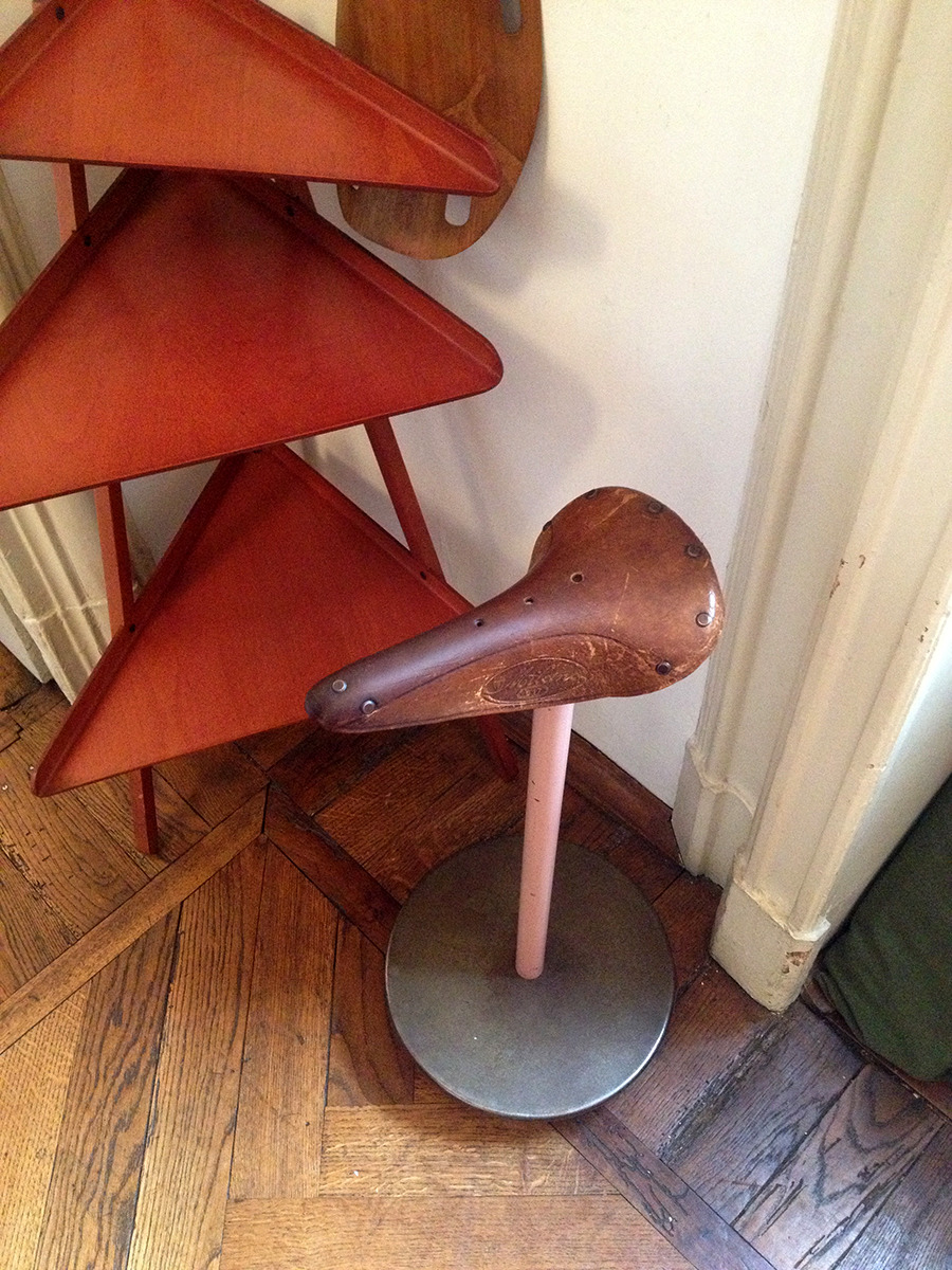 A highlight of our trip to Milan for the Salone was a visit to Achille Castiglioni's atelier. Been thinking a lot about the way that space informs both process and output. Castiglioni's penchant for tinkering with everyday forms is clearly in evidence in the studio.