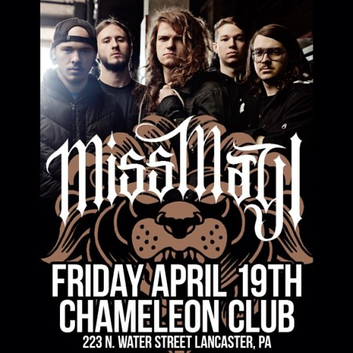 Tonight!!!!! See you at the Chameleon club. Tickets still available #missmayi