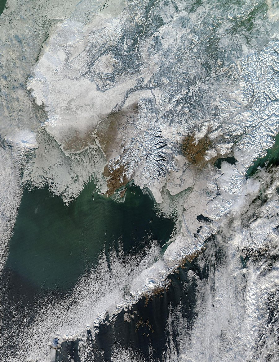nevver:  Alaska from Space