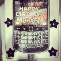 Maryam's birthday cake by her amazing lovely friend Aisha ♡