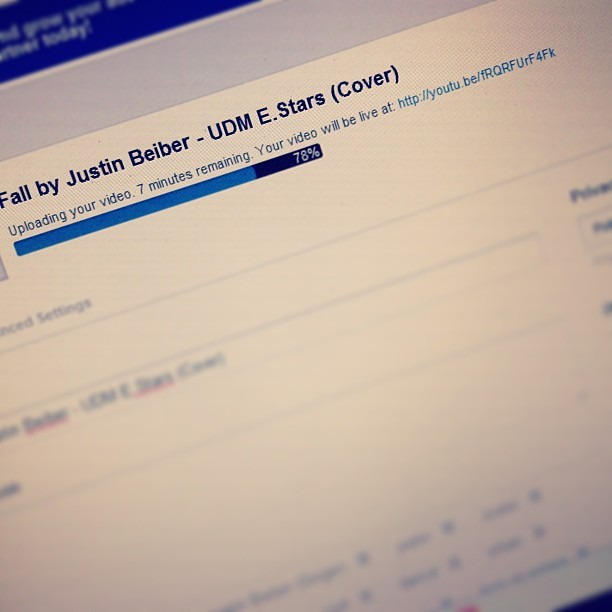 http://youtu.be/fRQRFUrF4Fk #udm #estars #newvid #youtube #justinbeiber #fall #cover #dance @khenrosalio