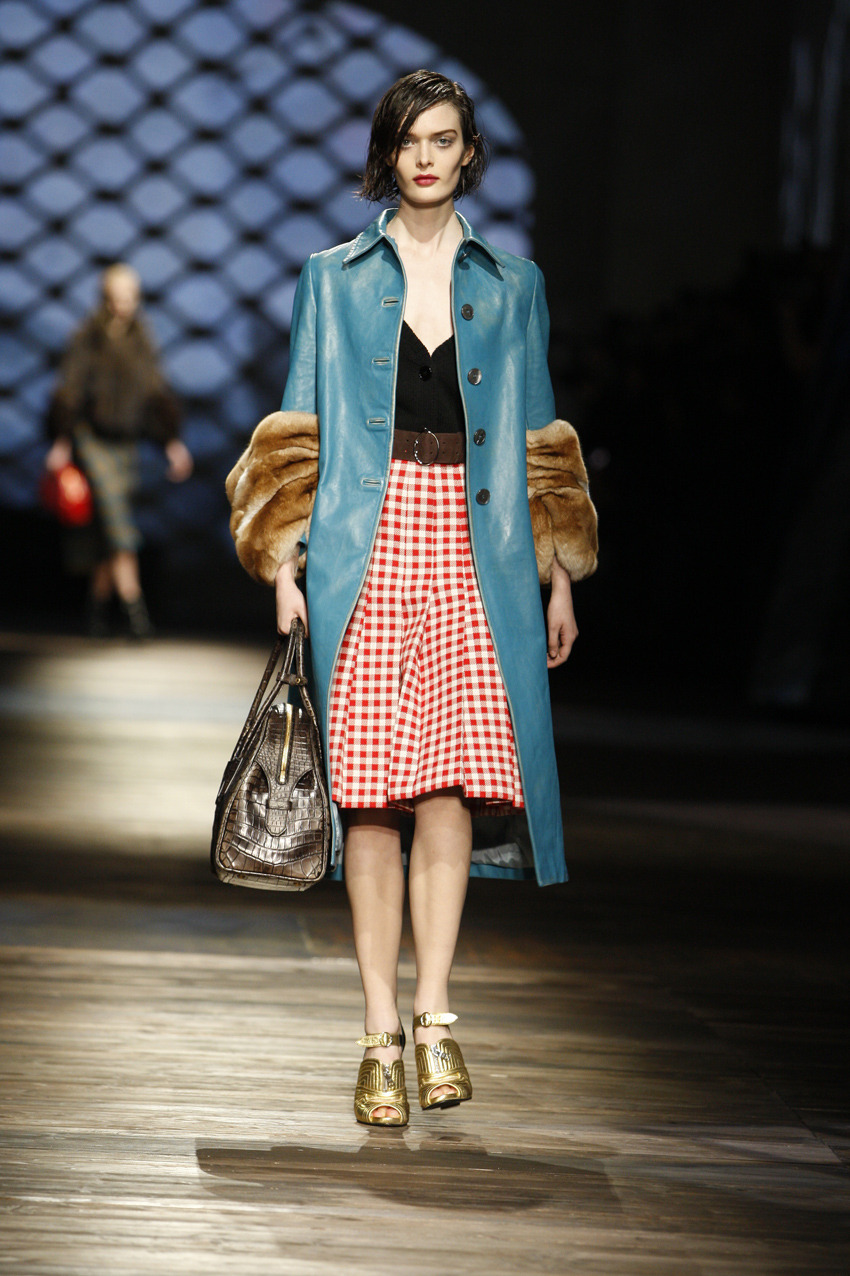 Prada - Fall 2013 / Photo Courtesy of Prada See the season's headlining trends at Milan Fashion Week now.