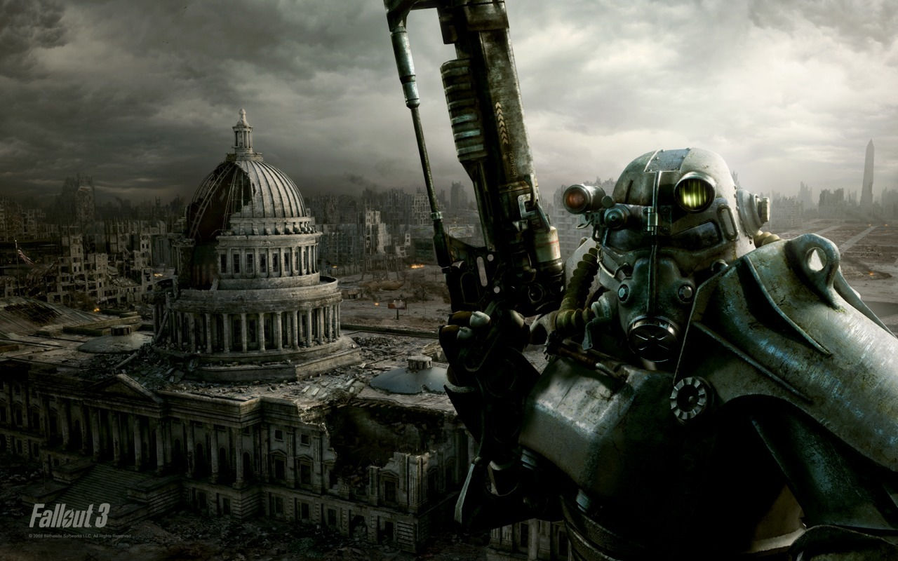 Fallout 3…  This is probably the best game I've ever played, I play it on the PS3, but like all games you start getting to a stale point.  It usually occurs when you have either completed the main game and all you're doing is filling in the blanks, or, you have gotten your characters skill levels to such a point that he is all but unbeatable.  I have scoured the wastelands, earned alien weapon technology, I have the best armour that the game provides, and I have pretty much gathered all of the weapons that are available, with the exception of just a few modified weapons that in all honesty I probably don't need because I have never used their basic versions.  I still have a bunch of side missions that I could complete but when your character is at such a high level, there almost seems no point.  I have Fallout: New Vegas sitting my in desk draw and I am now at a point where I am contemplating loading it up and calling it good on Fall Out 3.  Are any of you video game players? Have you played Fallout? Did you experience the same thing?