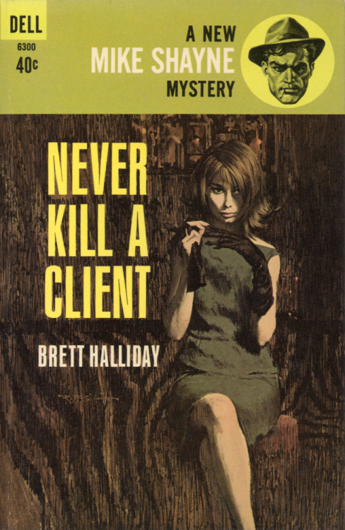 warrenellis:  (via Never Kill A Client - Pulp Covers)