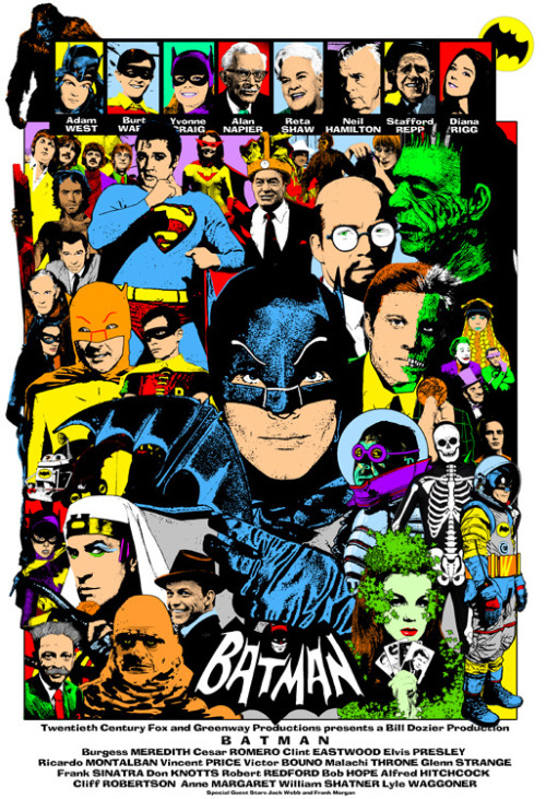 cryptofwrestling:  Batman Season 4 Fantasy Poster by Andy Fish [andyfish.bigcartel.com]