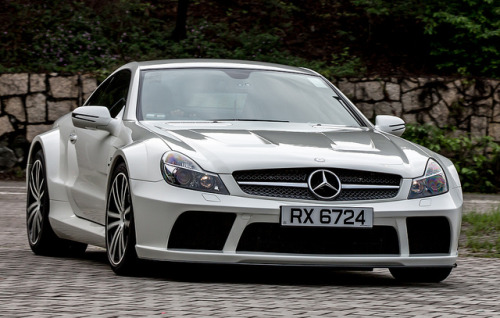 theautobible:  Mercedes SL 65 - RX6724 by Keith Mulcahy on Flickr. TheAutoBible.Com