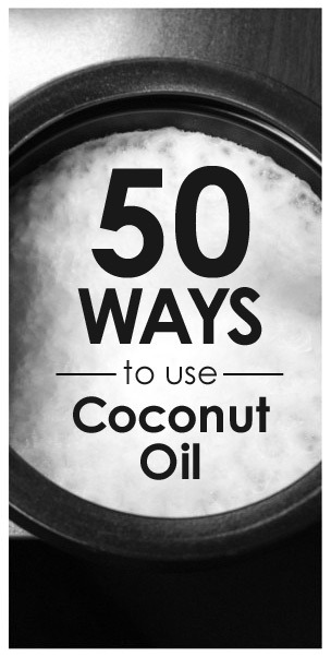 raincityvegan:  Massage Oil – Coconut oil soothes tired and sore muscles. Add a few drops of essential oils for more effect. Athletes Foot – The powerful antifungal properties of coconut oil make it perfect for any fungal infection. Add a few drops of oregano or tea tree oil for more antifungal power. Acne – Coconut oil gently fights the bacteria that cause acne. Dab it directly on the offending pimples and watch them shrink. Cleanser – Coconut oil makes an effective and gentle cleanser to remove the grime of the day. Lice – Coconut oil kills and removes this pesky problem. Stretch Marks – Prevent and soften stretch marks from pregnancy with coconut oil for soft and supple skin. Warts and Moles – Rub oil into area and cover with a bandage. Rub in fresh oil and place a new bandage each day. Moisturizer – Coconut oil is an excellent way to soften and hydrate dry, rough, or damaged skin. Face Scrub – Mix coconut oil with baking soda, sugar, or cinnamon and oatmeal for the perfect face scrub and exfoliator. Dandruff – Massage coconut oil into the scalp to ease symptoms of dandruff, both itching and flaking. Curb Appetite – Take a spoonful before meals to curb appetite so you don't overeat. Wrinkles – Rub into lines, creases, and wrinkles to rehydrate skin and soften those wrinkles away. Sore Throat – Dissolve a spoonful in your mouth and let it slowly roll down the throat. This will coat and protect the throat, boost the health of mucus membranes, and fight any infection. Ring Worm – Rub coconut oil onto affected area to kill the fungus that causes unsightly ringworm. Add tea tree oil to clear the infection even faster. Lip Balm – Coconut oil hydrates and protects lips. Coconut even offers some protection from the sun, about an SPF 4. Cold Sore – Coconut oil has antiviral properties that will help the body get rid of the virus that causes cold sores. Rub it on when needed and add a drop of oregano oil to speed healing. Lubricant – Coconut makes an all-natural personal lubricant for intimate moments without chemicals. Gum Removal – Coconut oil gets the sticky stuff out of hair, carpet, and anywhere else it doesn't belong. Pet Health – Coconut oil can do a multitude of things for pets, both topically and internally. It improves breath, makes for a shiny coat, eases joint problems, cleans ears, gets rid of fleas, and much more. Stys/Pink Eye – Rub a small amount of coconut oil on the sty or around the eyes to get rid of these painful and annoying infections quickly. Earaches – Earaches, swimmer's ear, and ear infections clear up fast with a few drops of coconut oil mixed with garlic oil. Cradle Cap – Coconut oil is gentle and safe for infants and helps ease the itching, pain, redness, and flaking associated with cradle cap. Diaper Rash – Coconut oil can help heal mild diaper rash gently and effectively. Bruises – Rub coconut oil into bruised skin to speed healing and watch the bruises fade fast. Age Spots – Coconut oil has beneficial effects on any skin blemish. Use it to help fade age spots with powerful antioxidants. Shaving Cream – Coconut oil keeps the razor gliding smoothly while leaving skin smooth and soft. After Shave – Don't want unpleasant bumps and rashes after shaving? Coconut oil soothes sensitive skin and promotes healing. Toothpaste – Mix 1 part coconut oil with 1 part baking soda and add a couple drops of peppermint oil. This makes a refreshing, natural toothpaste that whitens and cleans without added preservatives, fluoride, sweeteners, or other chemicals. Chicken Pox – Ease the itch and encourage healing with dabs of coconut oil. It also works on poison ivy, poison oak, mosquito bites, and other insect stings or bites. Yeast Infections – Coconut oil fights these fungal infections internally and externally. Makeup Remover – Coconut oil removes oil-based makeup easily, like mascara. It cleans, hydrates, and makes skin glow. Conditioner – Coconut oil conditions, strengthens, and repairs hair. Massage it in and rinse it out after ten minutes. A small amount can be rubbed in to dry hair to tame frizz. Polish Furniture – Coconut oil gives a protective shine to wood furniture. Just make sure you test it out on a small area to make sure you like the outcome. Energy – Coconut oil and its medium chain triglycerides make it an excellent energy source to improve stamina, endurance, or just to give you a boost through the day. Deodorant – Mix coconut oil with cornstarch, baking soda, and your favorite essential oils for a natural deodorant that smells fantastic. Eye Cream – Reduce puffiness and dark circles with a few dabs of coconut oil. Eczema – Coconut oil reduces the itchiness, pain, flakiness, and dryness of eczema, psoriasis, and dermatitis. Sunburn – Coconut oil can help prevent sunburn for short exposures. When you burn, it will also speed healing and take some of the sting away. Make sure you wait until all the heat has dissipated before applying it or you trap the heat in. Wait 24 to 72 hours depending on the extent of the burn. Hemorrhoids – Coconut oil eases the pain and discomfort of hemorrhoids and encourages natural healing both internally and externally. Nose Bleeds – Rub a bit of coconut oil in nostrils to fight the dry cracking that can lead to nose bleeds and pain. Canker Sores – Dab coconut oil on canker sores to kill infection and speed up healing. Coconut oil is also a far tastier way to treat canker sores than most other methods. Toothaches – Coconut oil eases the pain and strengthens teeth. You can mix it with a drop of clove oil to almost instantly relieve pain. Acid Reflux – Take a small spoonful with meals to keep acid reflux and heartburn at bay. Urinary Tract – Treat urinary tract infections with a spoonful of coconut oil. It may even ease the painful passing of kidney stones. Nursing – Coconut oil works great to repair dry, cracked skin, including sore nipples from nursing. Alzheimer's – Some research points to coconut oil as a way to slow the progression of or prevent Alzheimer's and dementia. Bones – Coconut oil aids the body in the absorption of calcium and magnesium. Both minerals are important for strong bones and teeth. Epilepsy – Coconut oil may reduce the incidence and intensity of epileptic seizures. Fitness – Coconut oil boosts energy, increases metabolism, improves thyroid function, and aids healthy weight loss. It is the perfect addition to any workout or fitness regimen. Cooking – Coconut oil doesn't form harmful by-products when heated like most other oils and animal fats. Use it to replace butter, cup for cup in recipes. Sauté, cook, bake, broil, braise, and more using coconut oil as a healthier alternative.