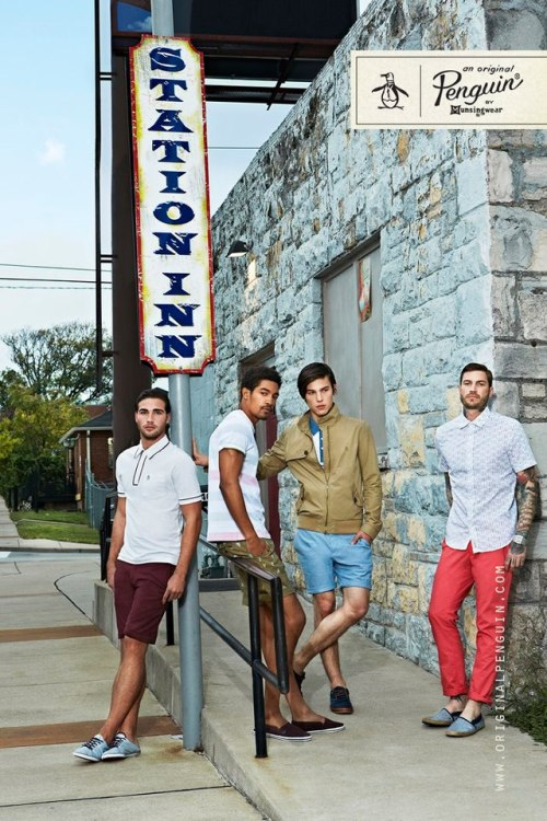 mensfashionworld:  Original Penguin Spring Summer 2013 Campaign