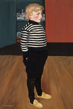 Charles au jersey rayé (portrait of Evenepoel's son, c.1898) is a painting by Henri Evenepoel, in the collection of the King Baudouin Foundation.