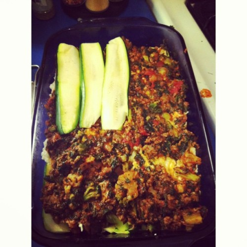 I'm making lasagna with zucchini instead of noodles! Thanks pintrest!