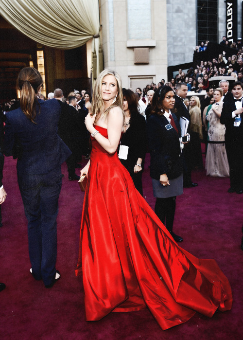 blairsalvatore:  Jennifer Aniston - 85th Annual Academy Awards (2013)