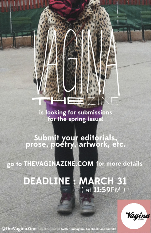 It's not too late! Get those submissions in by 11:59pm, ladies