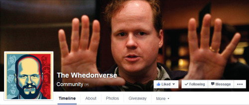 Hey you guys! I'm joining The Whedonverse, a Facebook Community created by a friend of mine to spread the word about our favorite 'verse. I'll be posting art, news and content there as well. If you're a Whedonite, you should totally check the page out.It's one more place to share our love for the characters, shows and stories created by Joss Whedon, so you all would be very welcome there! Also, we're currently throwing a giveaway along with Once Upon a Tee on both the Facebook page and my Tumblr blog, so there's multiple chances for you to win now!