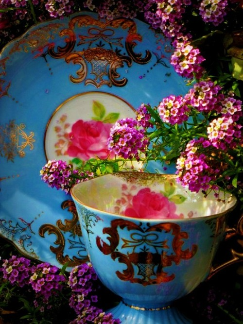 stephythekiwi:  Tea on We Heart It - http://weheartit.com/entry/47580586/via/stephykolden   Hearted from: http://pinterest.com/pin/525232375261847688/