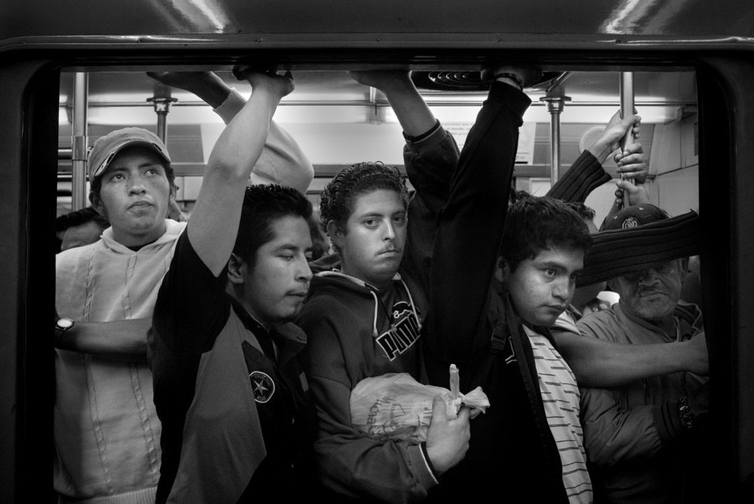 "Inside Mexico City's Chaotic Underground Rush Hour ""I wanted to show a part of the Megalopolis that struck me, that showed very clearly that something is not working well for us as human beings in relation with our environment."" -Héctor Mediavilla A glimpse of Mexico City's subway as seen through the lens of photographer Héctor Mediavilla. Known as one of the worst cities in the world in which to drive, Mexico City's rush hours aren't much better underground with a subway system that generates around 4 million riders a day. Read: Inside Mexico City's Chaotic Underground Rush Hour [Images: Héctor Mediavilla] via theatlanticcities"