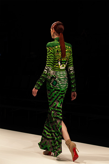 Mary Katrantzou opening LMFF 2013 All Images Elliott Lauren