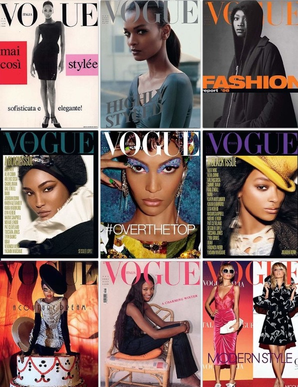 #BrownBeauties who VOGUE.  www.mybrownbox.com Instagram @mybrownbox