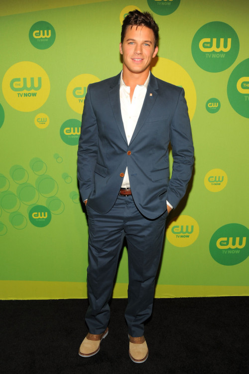 Matt Lanter || CW Upfronts at The London Hotel in NYC on May 16, 2013