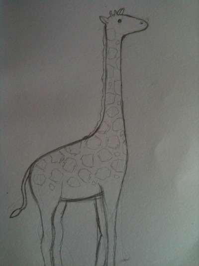 15/4 - G is for Giraffe