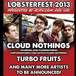 APRIL 26, we're headlining the 2nd night of Lobsterfest in Athens, OH!