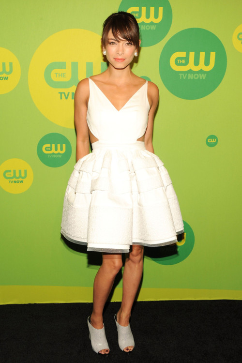 Kristin Kreuk || CW Upfronts at The London Hotel in NYC on May 16, 2013