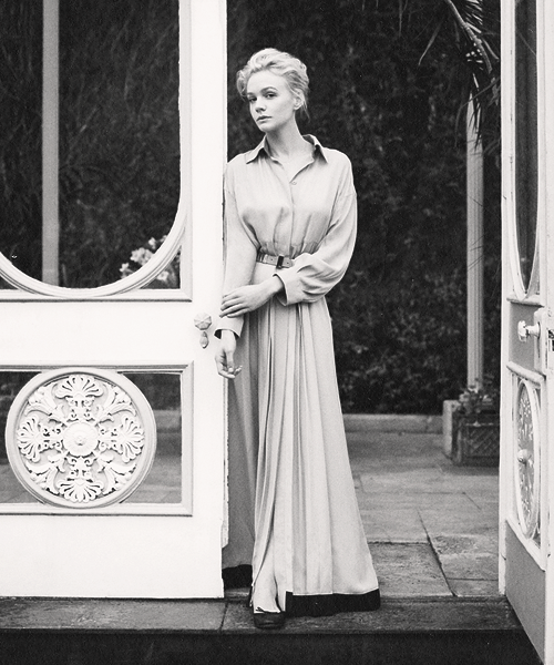 Carey Mulligan photographed by Tim Allen for Harper's Bazaar UK (June 2013)