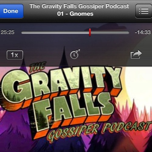 Love the show, love this podcast. Check it out, #gravityfalls #cartoon #tvshow #podcast #gnomes #funny