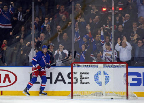 JT Miller helps the Rangers beat the Canes in a SO