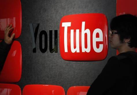 breakingnews:  100 hours of video uploaded every minute by YouTube users The Verge: Google revealed Sunday on YouTube's eighth birthday that the video sharing website has reached new uploading heights with around 100 hours of video uploaded every minute by users. A year ago today, 72 hours of video were uploaded every minute. The site also has reached record-breaking viewership with more than one billion people visiting the site every month. Photo: Visitors stand in front of a logo of YouTube at the YouTube Space Tokyo, operated by Google, in Tokyo, in February 2013. (Shohei Miyano/Reuters)