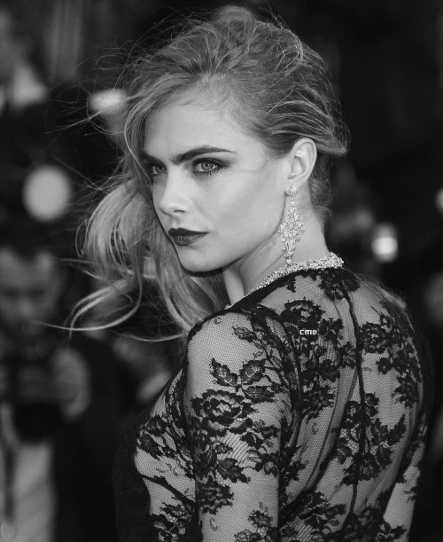 expectationskillus:  Cara Delevigne at the 66th Annual Cannes Film Festival