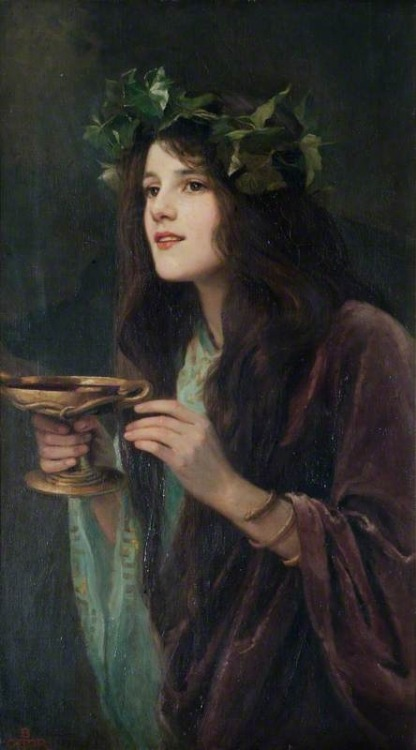 cauldronandcross:  Circe Beatrice Offor 1911