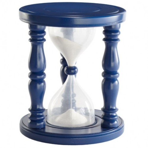 Time Out Hourglass Stool