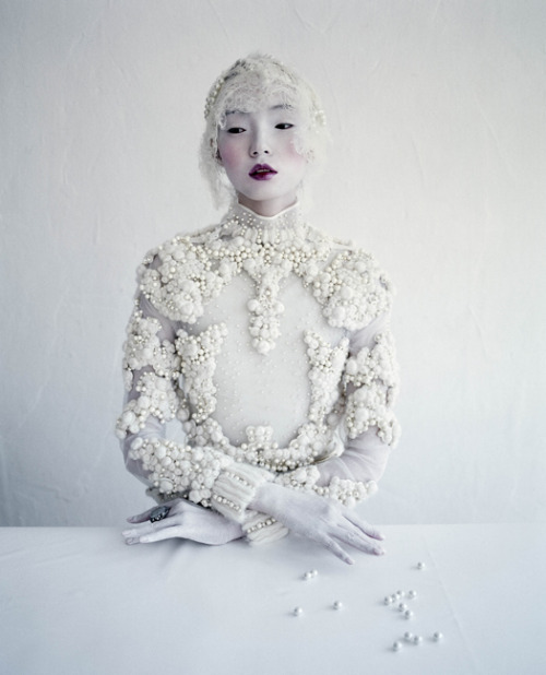 Xiao Wen Ju, Givenchy Haute Couture by Tim Walker