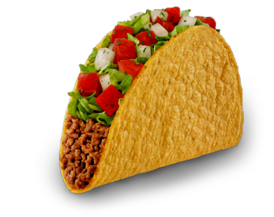 andrewsinterests:  This taco has a transparent background. You're welcome.
