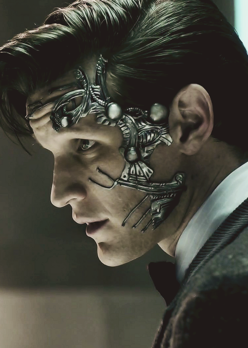 doctorwho:  Doctor Who: Nightmare in Silver  Even as a cyborg, he's still sexy!!!