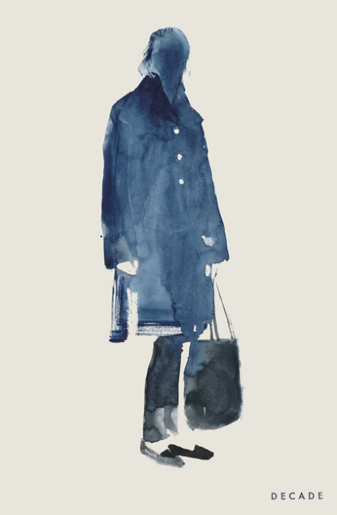 decadediary:  The Row Blog Post: Pre-Falling « Illustration by Decade Diary