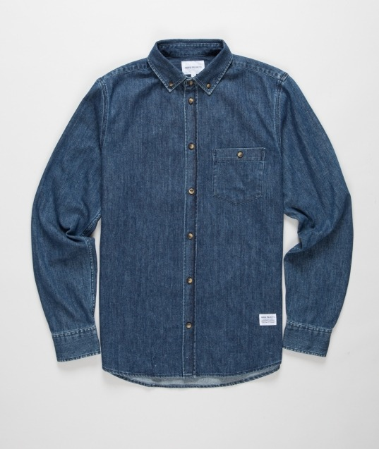 "chezcastel:  ""Anton Denim"" shirt by Norse Projects!"