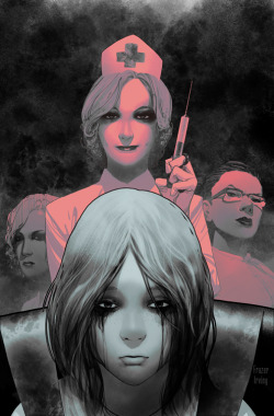 Frazer Irving (BEDLAM, UNCANNY X-MEN) cover for MORNING GLORIES 028. If you want this cover, let your retailer know! Diamond Order Code APR130560