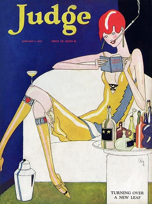 hoodoothatvoodoo:  Judge Magazine, 1927 Illustration by Rea Irvin