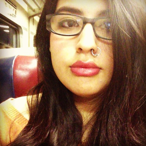 On that mta train flowwww~🚊😁