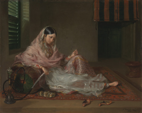 androphilia:  Muslim Lady Reclining By Francesco Renaldi, 1789
