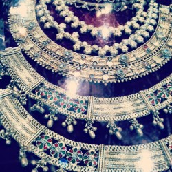 Traditional bohemian silver jewelry shopping #shimla #india #shopping #silver #jewelry #necklace #art #india #indian  (at Shimla)