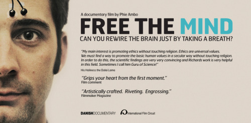 "I just heard about a cool documentary film called, ""Free The Mind."" It shows how veterans with PTSD who have just returned from war can rewire their brains through meditation. Check it out.http://danishdocumentary.com/site/freethemind/"