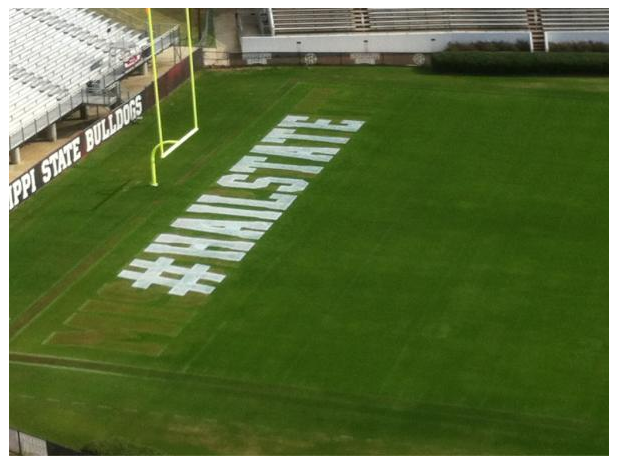 #Boooo! NCAA Bans Hashtags, Social Media URLs On Football Fields