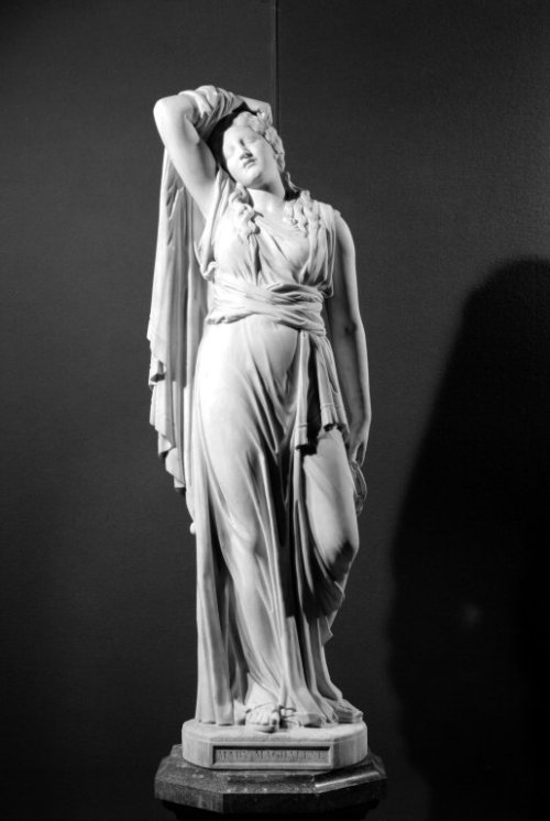 centuriespast:  Mary Magdalene Artist: Richard Saltonstall Greenough, American, 1819-1904 Medium: Marble Dates: 1869 Brooklyn Museum