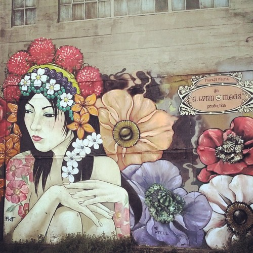 anthonydelatercera:  Gorgeous Street art in San Francisco