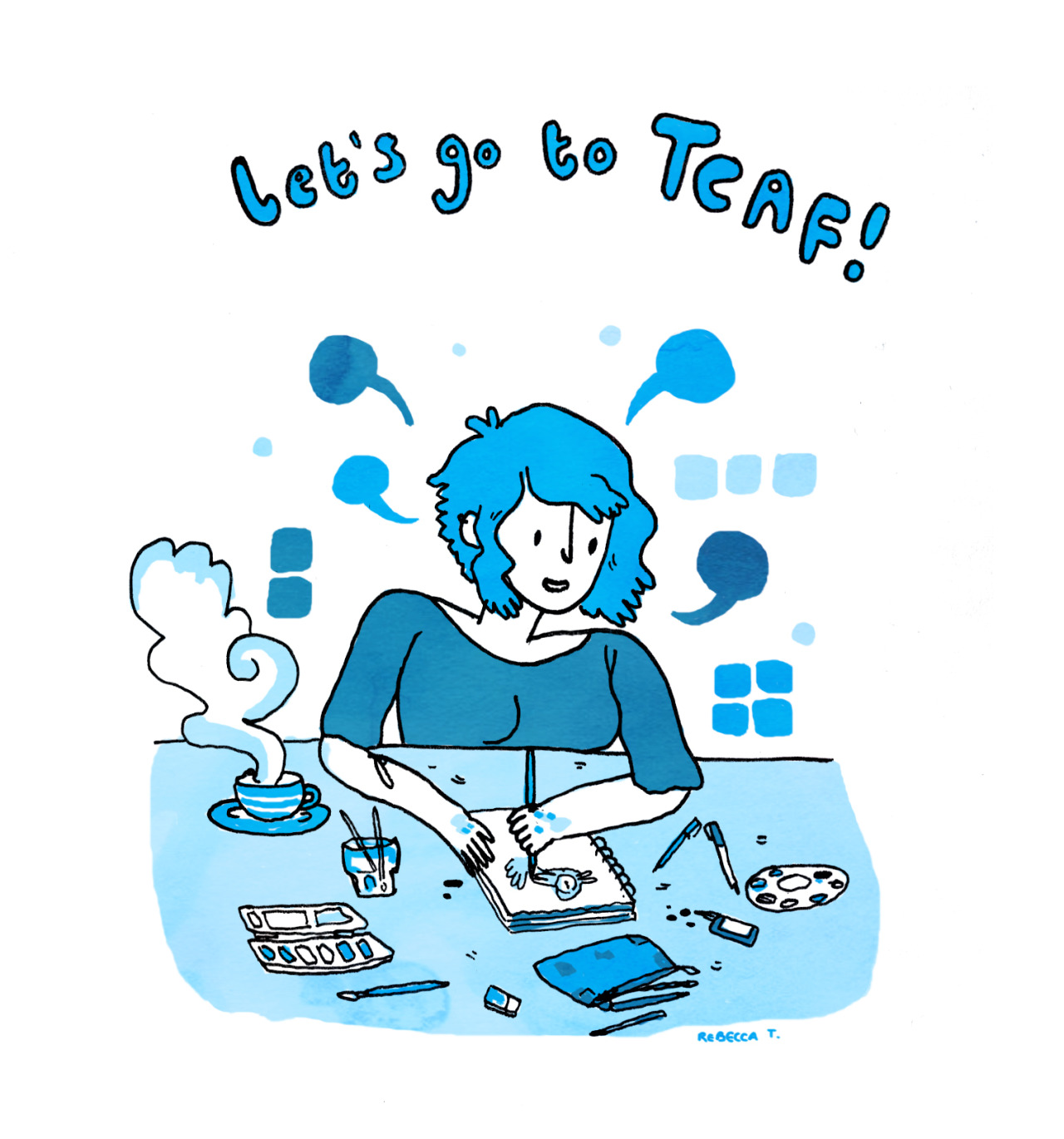 I'm trying to get to TCAF in May and I need your help! TCAF is a comics festival in Toronto, and I'm doing an Indiegogo to raise funds so I can travel there! If you donate, perks include minicomics and custom drawings! It'd mean the world to me if you donated or spread the word! I love you all!